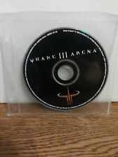 Quake III 3 Arena PC Game CD ROM Windows 95/98, 1999. Disc only