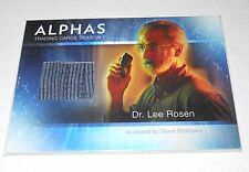 Alphas TV-Show Costume Trading Card David Strathairn as Dr.Rosen M7