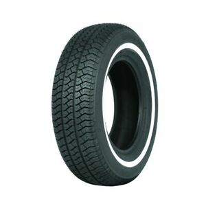 185HR14 Michelin MXV 20mm Whitewall, Whitewall Tyres