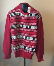 Weatherproof Men's Red Crewneck Sweater Size Large