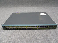 Cisco Catalyst 2960-S 48-Port Ethernet Switch WS-C2960S-48TS-L V04