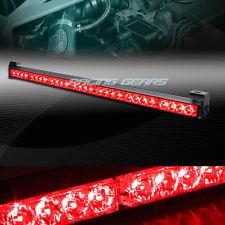 """31.5"""" RED LED TRAFFIC ADVISOR ADVISING EMERGENCY WARNING FLASH STROBE LIGHT BAR"""