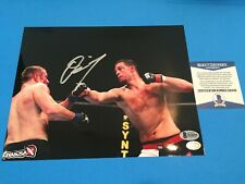 Nate Diaz UFC Signed Auto 8x10 Photo Beckett BAS COA