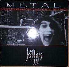 Metal Killers III - Sampler, various artists, Raw Power LP 004, original 1985