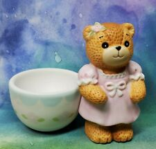 Enesco Lucy and Me Lucy Rigg Easter girl bear egg cup