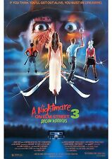 A Nightmare On Elm Street 3 - The Dream Warriors - A4 Laminated Mini Poster