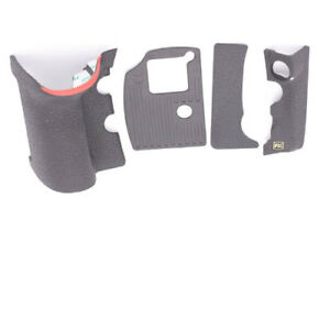 Set Of 4 PCS Grip Rubber Unit Assembly Repair Part For Nikon D810 With Tape