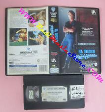VHS film IL DURO DEL ROAD HOUSE 1990 Patrick Swayze UNITED ARTISTS (F147) no dvd