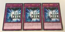 3 x YuGiOh Card - Bonding - DHO - LEDU-EN039 - Rare - 1st Edition NEW