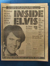 Elvis Presley - The Sun 19/5/1977 - 4 Page Pullout