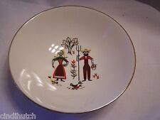 VINTAGE AMERICAN FARMER  WIFE PROVINCIAL Amish Berry Bowl 1+++++