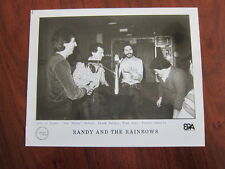 RANDY AND THE RAINBOWS   8x10 photo b