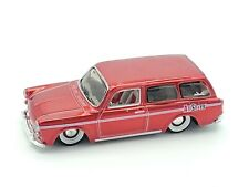Maisto All Stars Red 1/64 Volkswagen 1600 Squareback Candy Apple Red