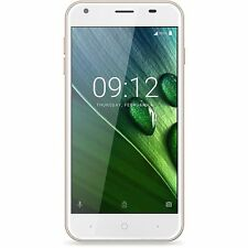 Acer Liquid Z6 Dual Micro-SIM Smartphone Android Handy gold NEU