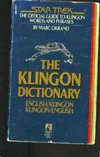 The Klingon Dictionary  English Klingon Klingon English