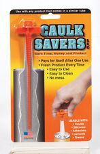 Caulk Saver- Caulk Tube Plug