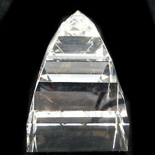 "Pyramid Paperweight Swarovski Crystal 2.25"" tall New Never Used Austria #7456"