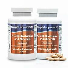 A-Z Multivitamine & Mineralstoffe - 360 Tabletten - SimplySupplements
