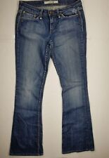 Joe's Jeans Sz 27x34.5 Flare  Embroidered Thick Stitching Women's