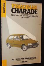 Kluwer Vraagbaak Daihatsu Charade benzine- diesel 1978 - 1987 P.H. Olving (JvH)