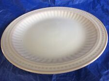 """THE BOMBAY EMBOSSED LINES DOTS DINNER PLATE  11"""""""