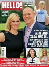 Hello Magazine Mike And Zara Tindall Kate Middleton Geri Horner Cannes Festival
