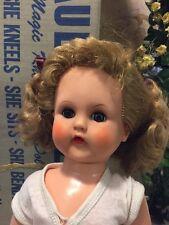 RARE Vintage Hard Plastic Jointed Paula Mae P&M Magic Knee Action Doll W/ Box