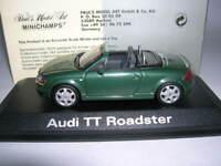 Minichamps Audi TT Roadster mit Spoiler grün green, 1:43 Art. 20000000942003