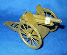 VINTAGE TOY SOLDIER BRITAINS 1201 ROYAL ARTILLERY GUN FIELD ENGLAND CANNON ARMY