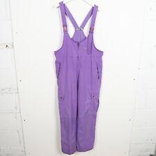 Vintage 90s FILA Small Logo Salopette Braces Purple | XL