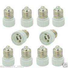 30x zócalo adaptador e27 en gu10 luz ADAPTADOR Adaptador zócalo lámparas lámparas zócalo