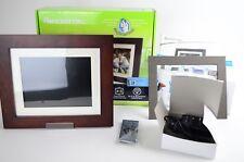 Pandigital 8-Inch Touchscreen LCD Digital Picture Frame clock, calendar,Cookbook