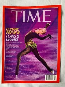 TIME Magazine 2014: Olympic Preview, Fears & Cheers (Feb 10, 2014) Inside Sochi