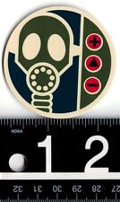 ALIEN WORKSHOP STICKER Alien Workshop Gasmask 2.25 in Round Alien Skate Decal