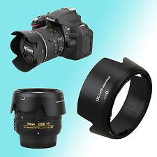 HB-69 Lens Hood Shade Nikon AF-S DX NIKKOR 18-55mm f/3.5-5.6G VR II JJC 52mm Kit