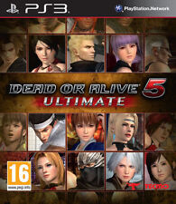 *Dead or Alive 5 Ultimate PS3* Region Free Complete ~Fast & Free Postage~ ELE7