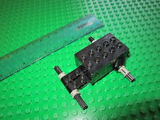 Lego Technic  BLACK non Electric Pull Back Motor + Axles