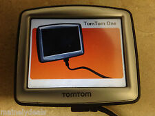 TomTom One Automotive Mountable Reciever GPS 3.5in Touch Navigation Unit TESTED