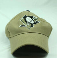PITTSBURGH PENGUINS Zephyr Hat FITTED NHL HOCKEY HAT Khaki SIZE 7 1/8