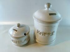 Formano alte? Keramik Vorratsgefäße für Kaffee und Marmelade top FORMANO