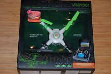 quadrone drone vision 6 axis gyro 2.4ghz 4 channel wireless 500' video camera