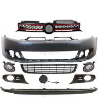 Set Stoßstange vorne+Nebel+Zubehör VW Golf VI 6 5K Bj. 08-12 kein PDC keine SRA