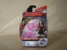 "MARVEL AVENGERS AGE OF ULTRON SCARLET WITCH  3.75"" FIGURE Hasbro MCU Movie 2015"