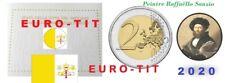 2 €  VATICAN   COMMEMORATIVE    RAFFAELLO   SANZIO    /    NOUVEAU   2020