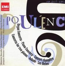 Francis Poulenc: Concertos, Aubade, Les Biches - Various (NEW 2 x CD)