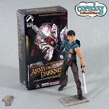 Palisades Army of Darkness Ash vs Evil Dead Action Figure Chainsaw Pit Battle