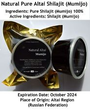 MEGA SALE Altai Shilajit 500 gms (1.1 lb), Authentic Pure Mumijo, Mumio, Mumie
