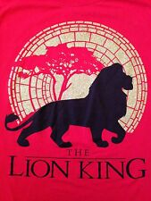 VINTAGE THE LION KING DISNEY T SHIRT LARGE