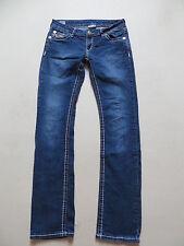 True Religion Slim Straight Jeans Hose, W 31 /L 32, Vintage Denim, Made in USA !