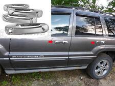 1999-2004 Jeep Grand Cherokee/02-07 Liberty 4 Door Chrome Handle Covers no PSKH